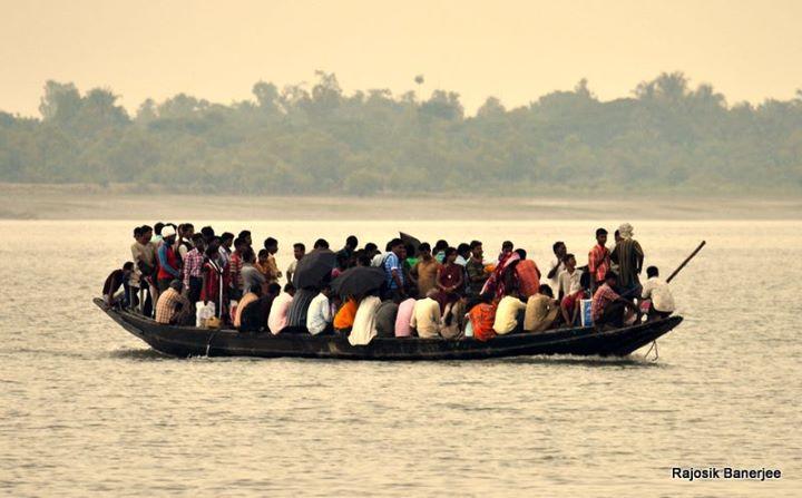 A boat ride in Gosaba