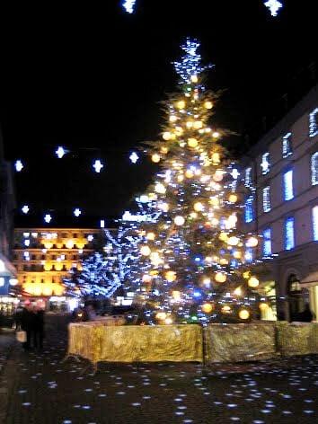 Geneva on Christmas eve
