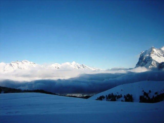 Snowladen Swiss Mountains