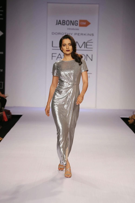 Dorothy Perkins India, Kangna Ranaut at Lakme Fashion week