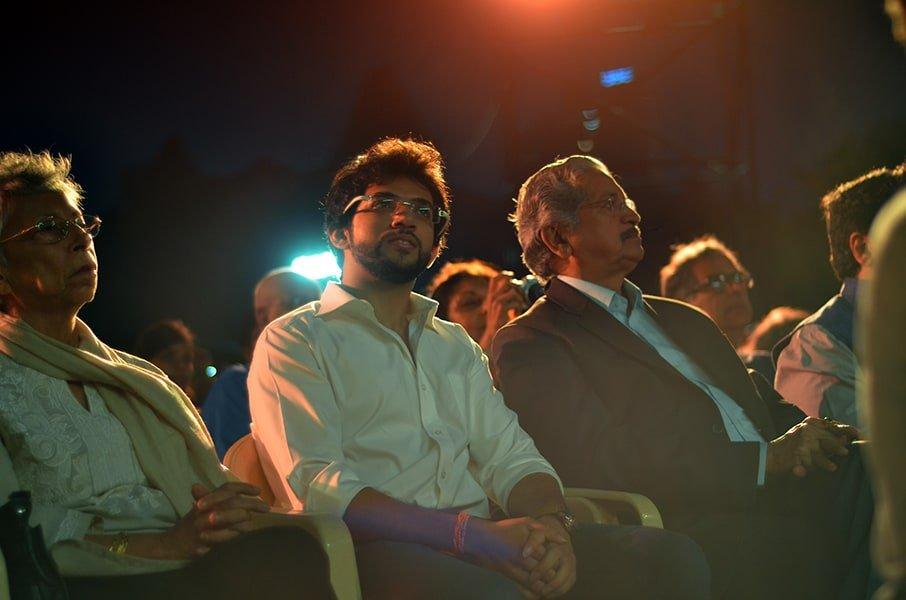 Aditya Thackeray at Kala Ghoda Arts Festival