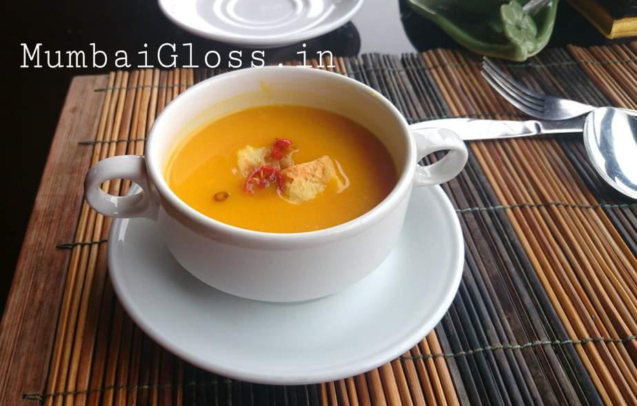 Pumpkin soup, Kintamani food, Bali food, Ubud food