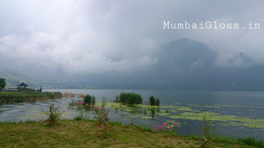 The mist engulfs Mt. Batur