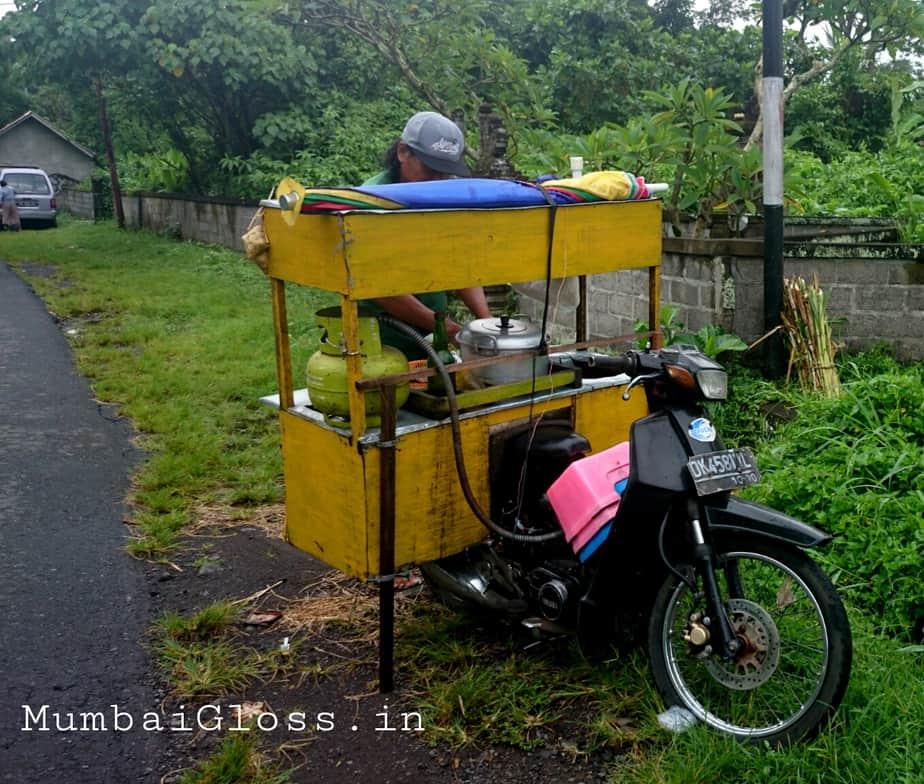 Bali, food carts, warung