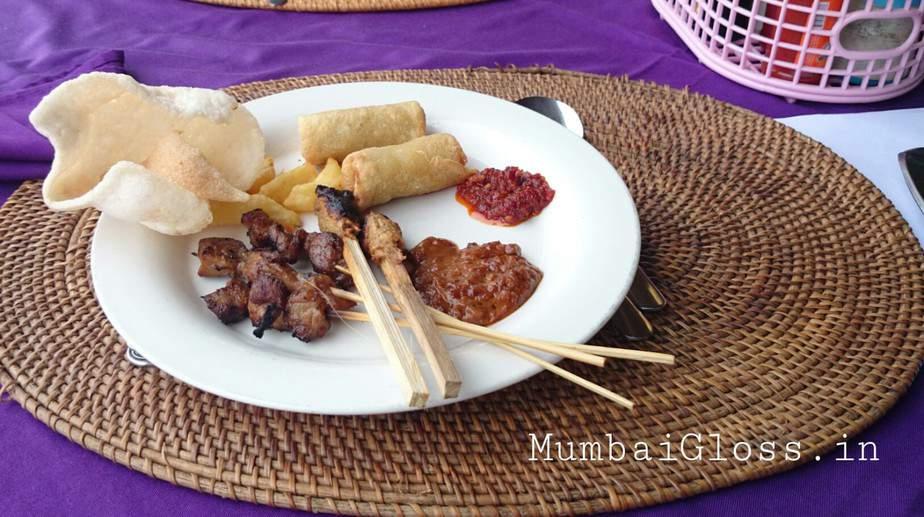 Satay pork, Satay bali