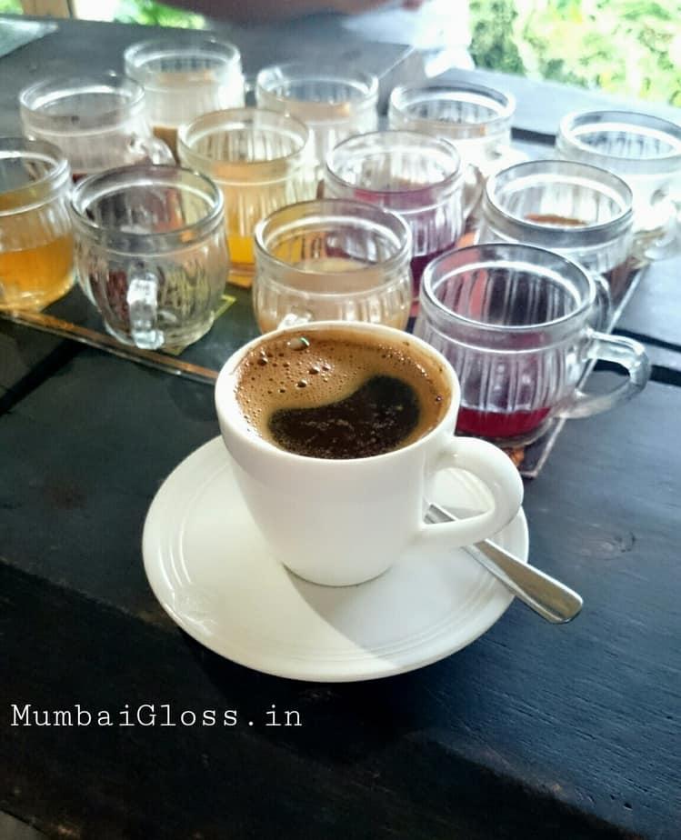 Kopi Luwak, organic tea