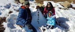 snowfall, India, Aparwat, phase 2, Gondola, Gulmarg