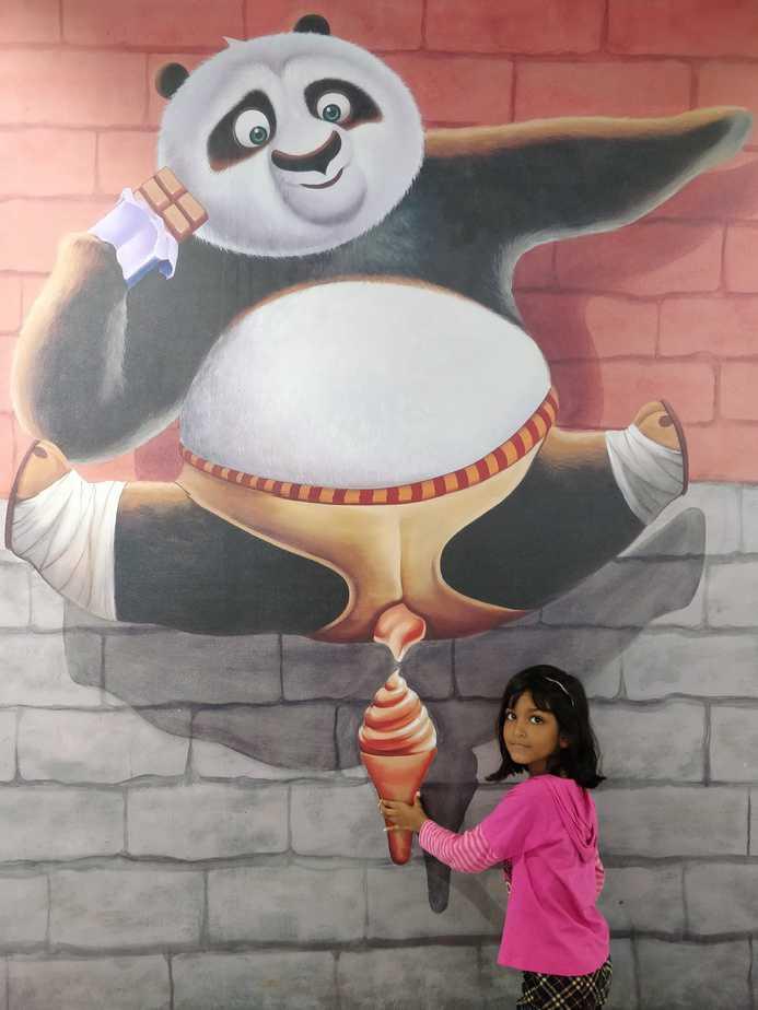 Imagica Eyelusion, Kungfu Panda,
