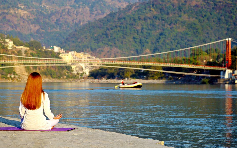 review of hotel yog niketan in rishikesh